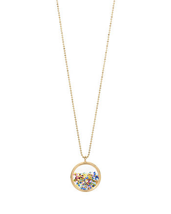 CONFETTI SHAKEY PENDANT NECKLACE