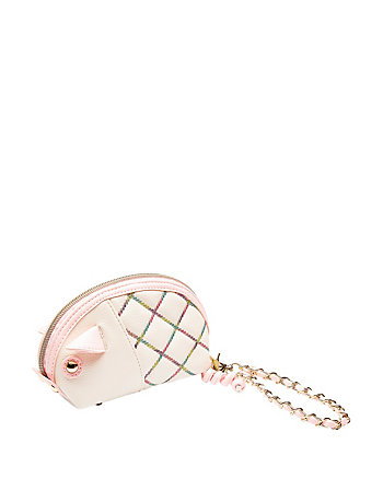 COTTON CANDY PIG WRISTLET