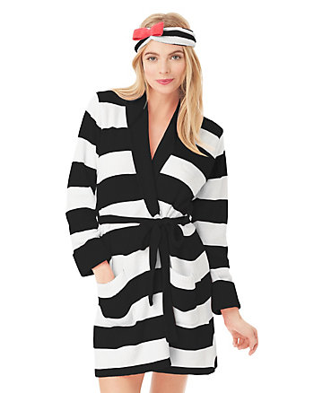 COZY SWEATER ROBE WITH HEADBAND GIFT SET
