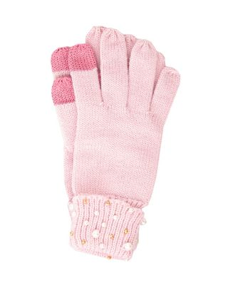 crazy for pearls tech gloves