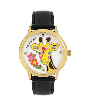 CRITTER MOTIF GIRAFFE WATCH