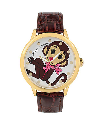 CRITTER MOTIF MONKEY WATCH
