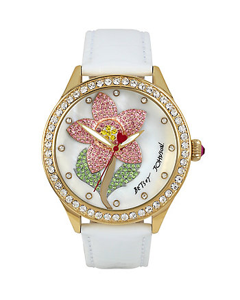 CRYSTAL FLOWER WATCH