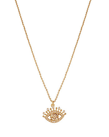 CZ EYE NECKLACE