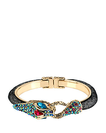 DARK SHADOWS MESH SNAKE BANGLE