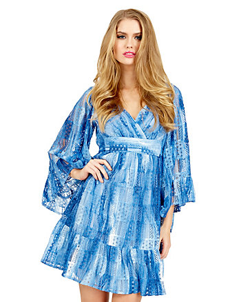 DARLING DENIM BOHO DRESS