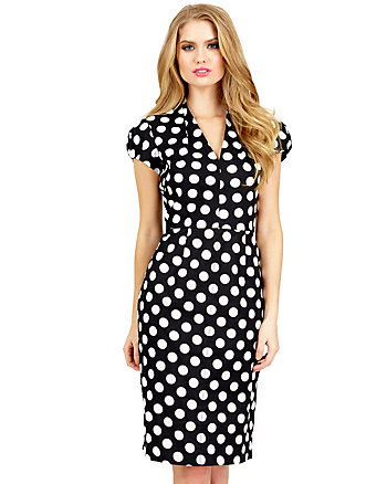 DELIGHTFULLY DOTTY DRESS