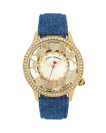 DENIM HEARTS WATCH