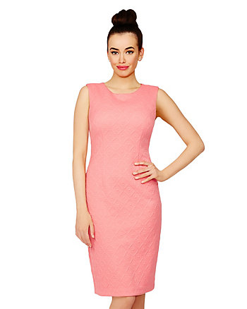 DIAMOND LIFE QUILTED DRESS
