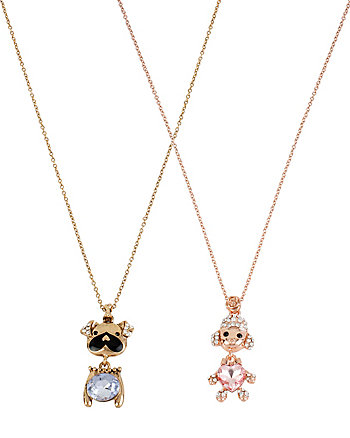 DOGS DUO NECKLACE SET