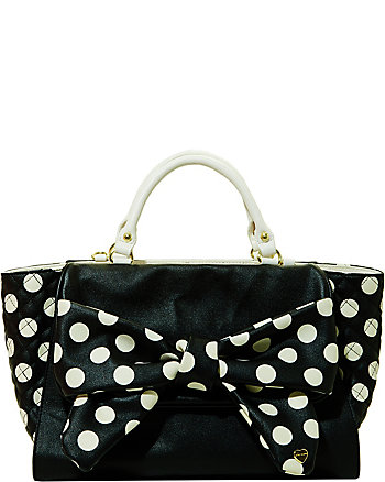DOTS ENOUGH SATCHEL