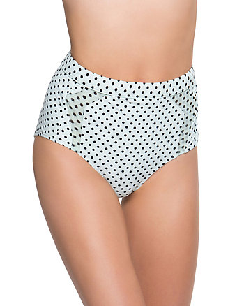 DUO DOT HIGH WAIST BOTTOM
