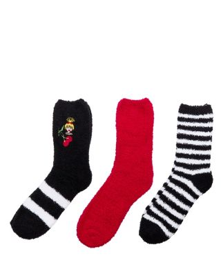 EMOJI BETSEY COZY SOCK THREE PACK MULTI