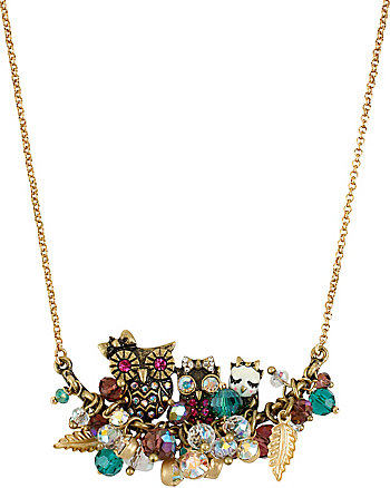 ENCHANTED OWL CHERRY NECKLACE