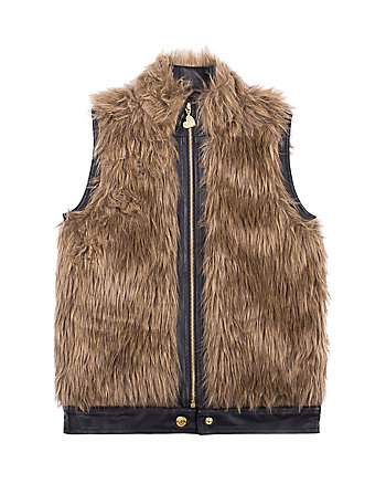 FABULOUS FUN 7 16 FAUX FUR VEST