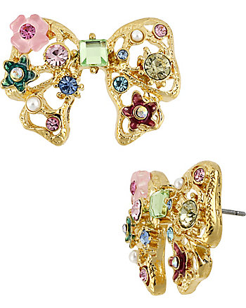FAIRYLAND BOW STUD EARRING