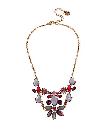 FALL FOLLIES BIB FRONTAL NECKLACE
