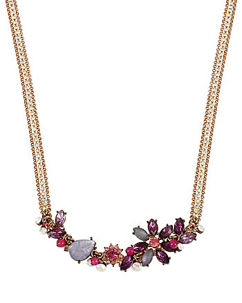 FALL FOLLIES FLOWER FRONTAL NECKLACE