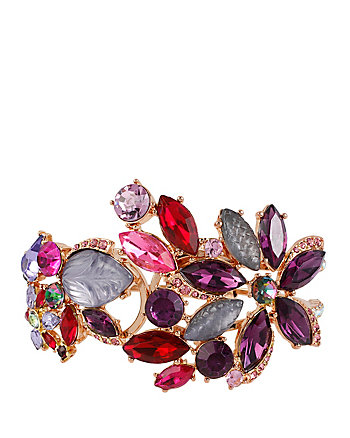 FALL FOLLIES FLOWER HINGE BANGLE