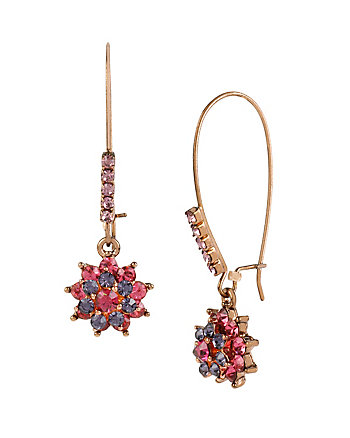 FALL FOLLIES FLOWER HOOK EARRINGS