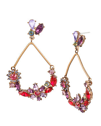 FALL FOLLIES FLOWER ORBITAL EARRINGS