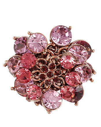 FALL FOLLIES FLOWER STRETCH RING