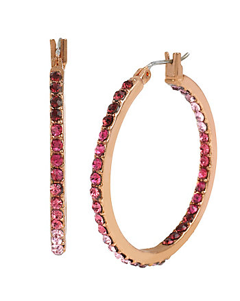 FALL FOLLIES HOOP EARRINGS