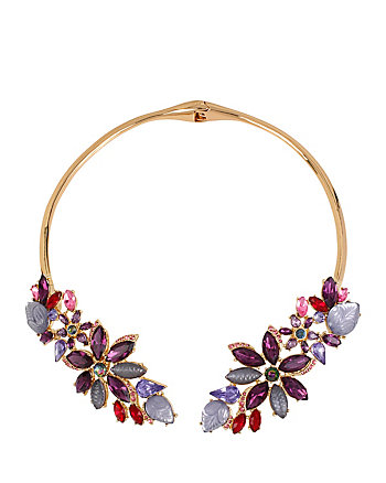 FALL FOLLIES MULTI FLOWER COLLAR