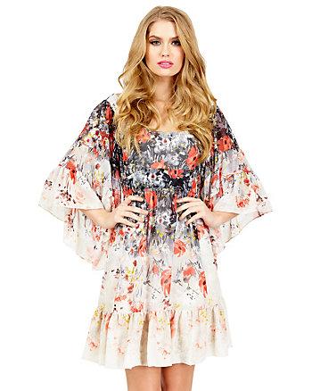 FEELING FLORAL BOHO DRESS