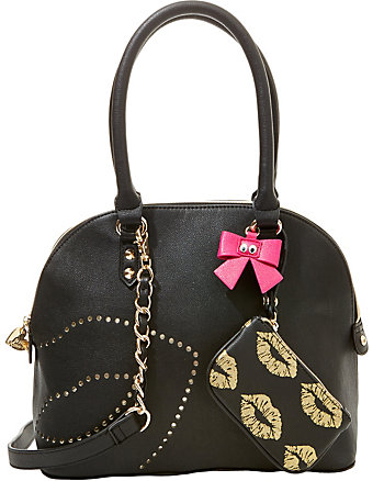 FIRST KISS DOME SATCHEL