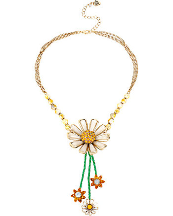 FLOWER CHILD DAISY Y-NECKLACE