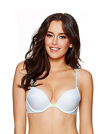 FOREVER PERFECT PLUNGING PUSH UP BRA