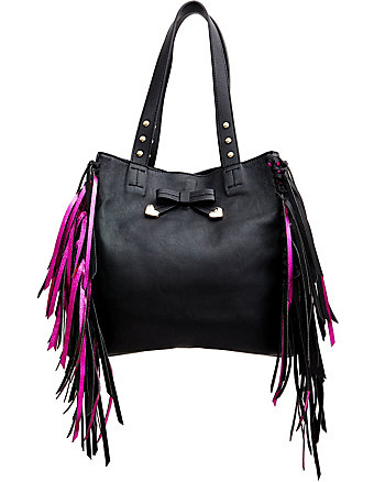 FRINGE PARTY TOTE