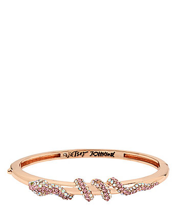GARDEN OF EXCESS CRYSTAL SNAKE BANGLE
