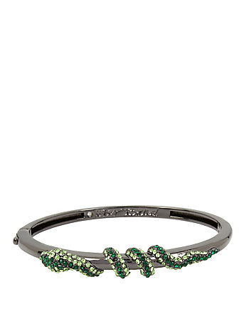 GARDEN OF EXCESS GREEN SNAKE BANGLE