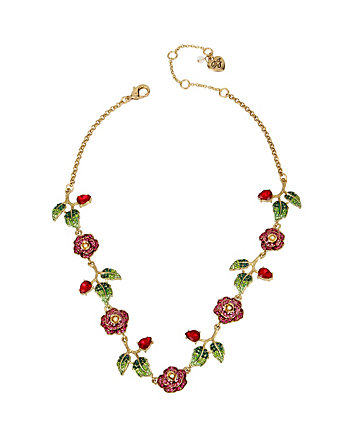 GARDEN OF EXCESS MULTI ROSE NECKLACE