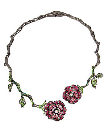GARDEN OF EXCESS ROSE VINE HARD COLLAR