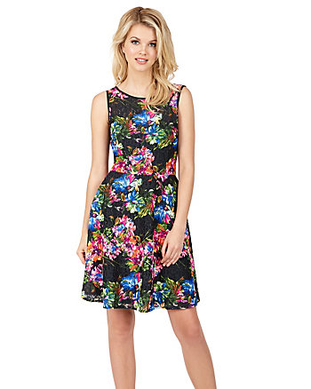 GARDEN PARTY SLEEVELESS DRESS