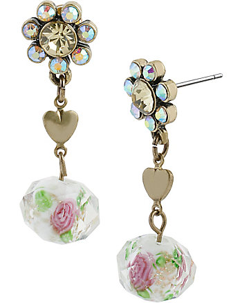 GIRLIE GRUNGE FLOWER MULTI EARRING