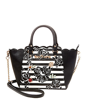 GLAM GARDEN SMALL SATCHEL