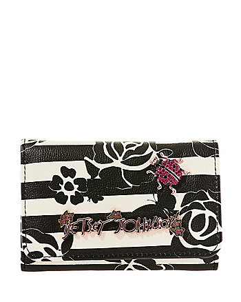 GLAM GARDEN SMALL TRIFOLD WALLET