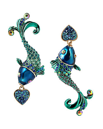 GLITTER REEF FISH EARRINGS