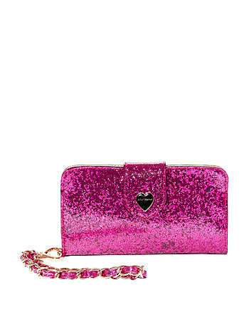 GLITTERAZZI HOLIDAY GIVING WALLET AND PHONE CASE