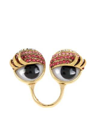 GOOGLY EYES PAVE RING