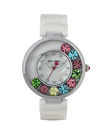 GROOVY MOVING CRYSTALS WATCH