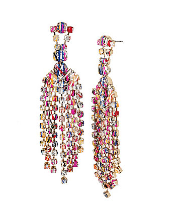 HARLEM SHUFFLE CHANDELIER EARRINGS