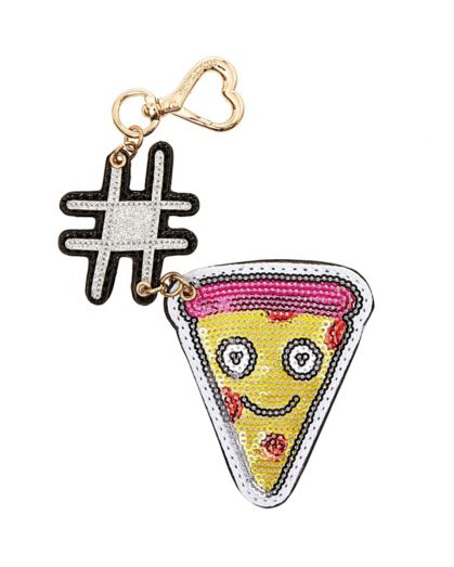 designer bag clearance 155x  HASHTAG PIZZA DANGLE