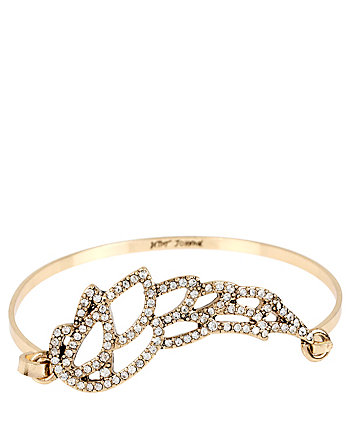 HEAVEN SENT FILIGREE WING BANGLE