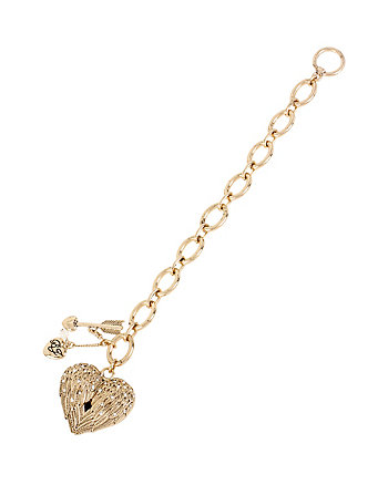 HEAVEN SENT WING HEART BRACELET