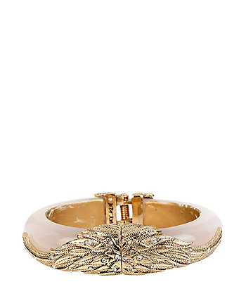 HEAVEN SENT WING HINGE BANGLE
